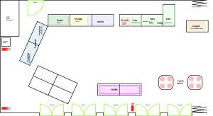 Mappa Oratorio Parabiago con espositori