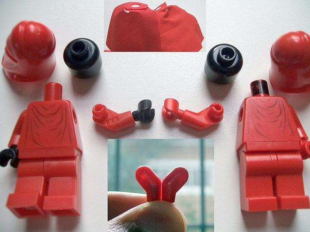 LEGO minifigure quality