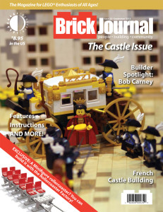 Copertina BrickJournal #25
