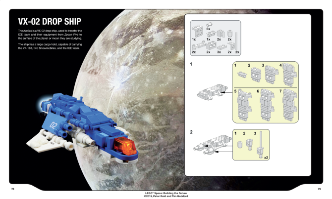 LEGO Space - Pagine 78-79