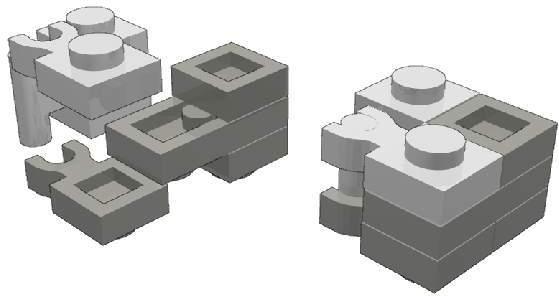 Clip e barre: costruzione di Timothy Gould.