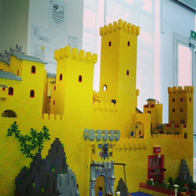 #lego #lecco2014 #yellowcastle