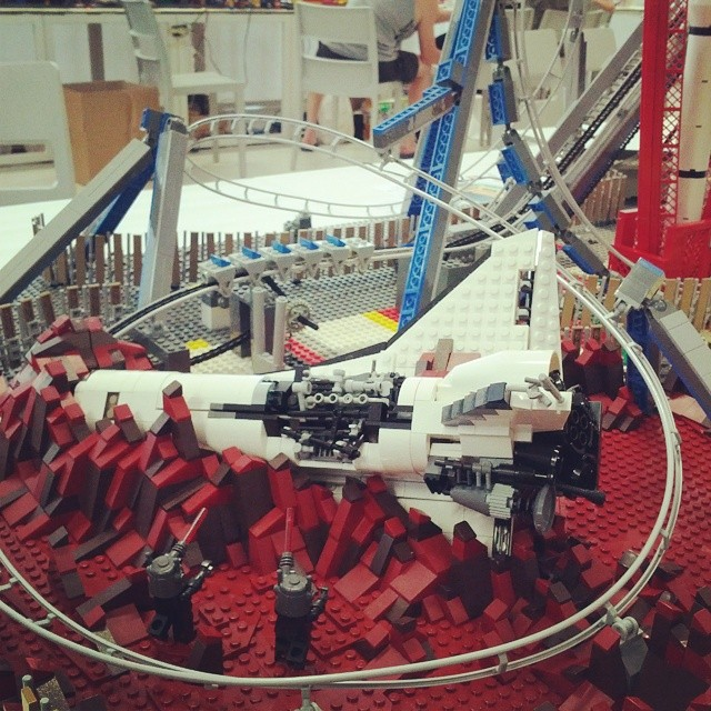 #lego #lecco2014  #spaceshuttle