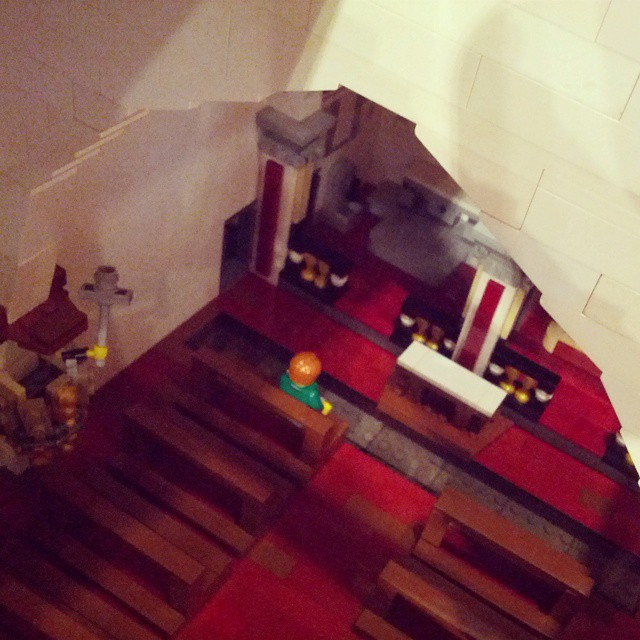 #lego #monastero #church #hand