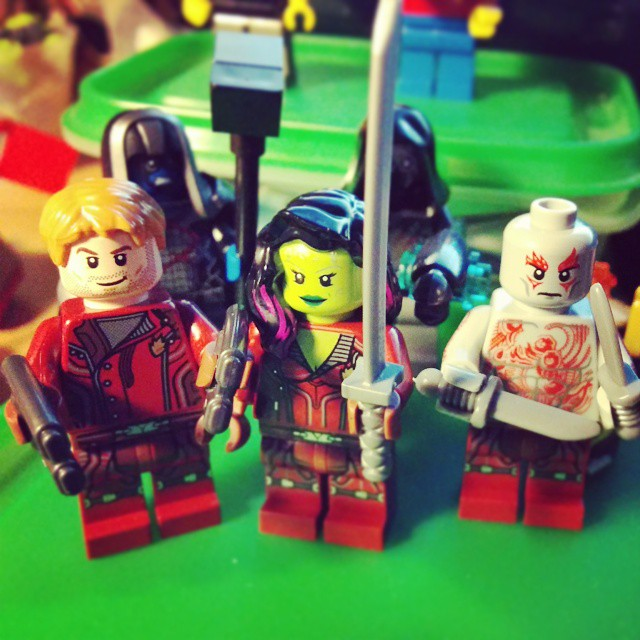 Finalmente Guardians of the Galaxy anche in Italia! #lego #guardiansofthegalaxy #betterlatethanever #marvel #iamgroot