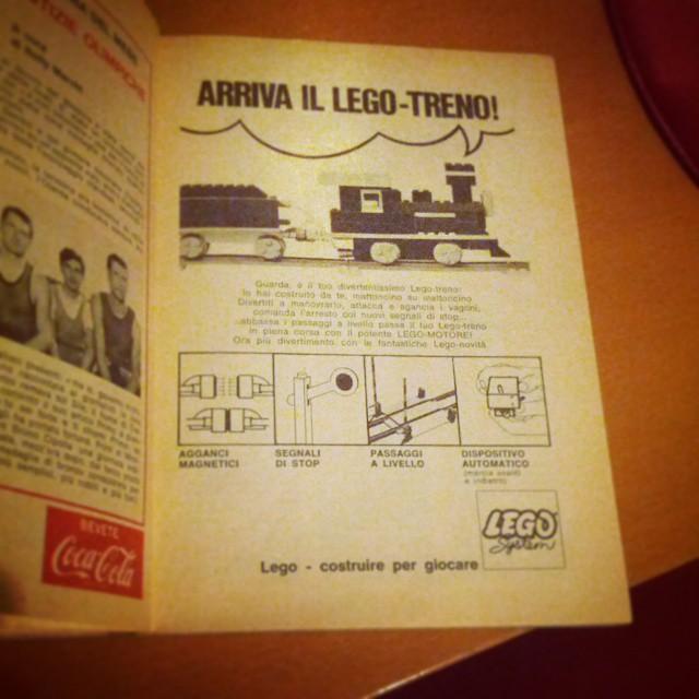 #1968 #lego #ad #topolino