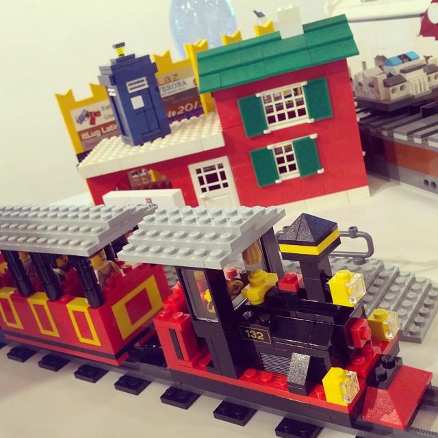 #lego #minitalia #legoland #train #tardis #doctorwho