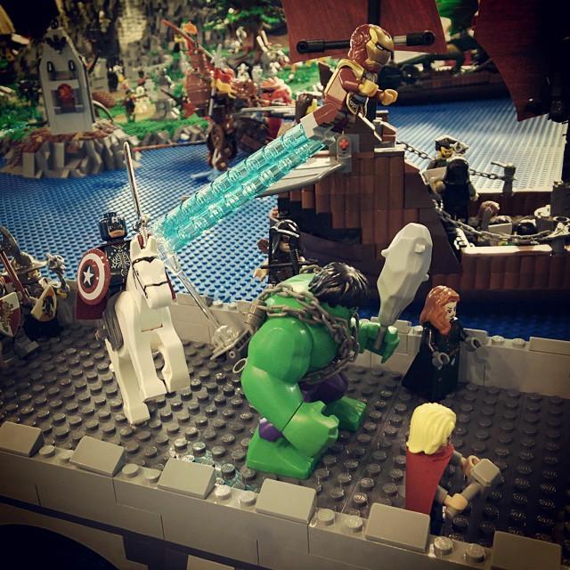 #lego #psg #portosangiorgio #avengers #hulk #captainamerica #cap #steampunk #wehaveahulk #thor #blackwidow