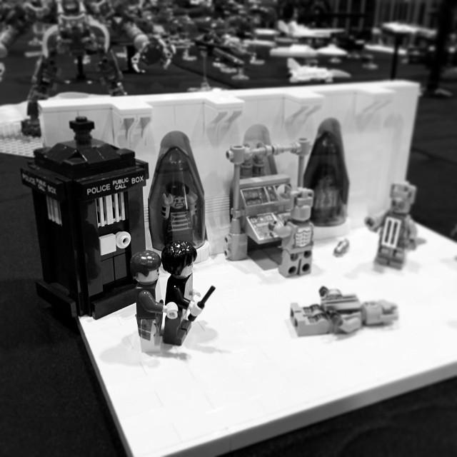 #lego #brick2014 #doctorwho #seconddoctor #cybermen #tardis