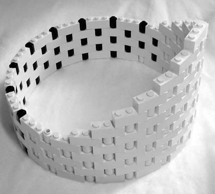 costruzioni lego con tubi