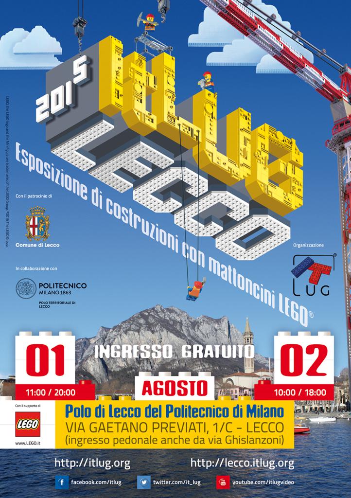 Locandina ItLUG Lecco 2015