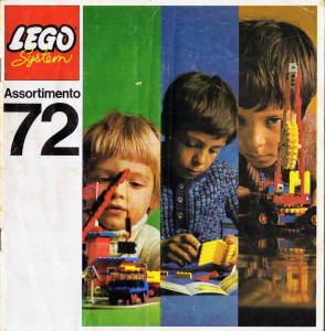 Catalogo LEGO 1972.