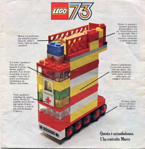 Catalogo LEGO 1973.