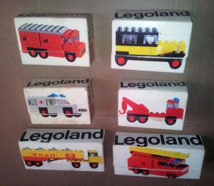 Scatole Legoland.