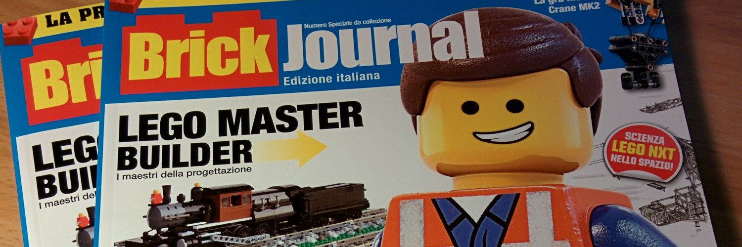 BrickJournal in Italia!