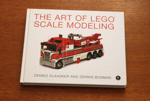 L'elegante copertina di The art of LEGO scale modeling