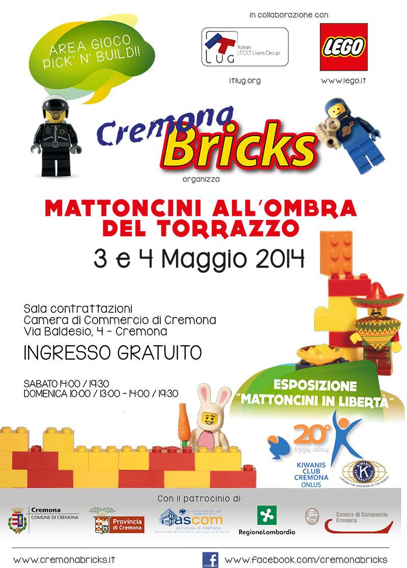 Locandina Cremona Bricks 2014
