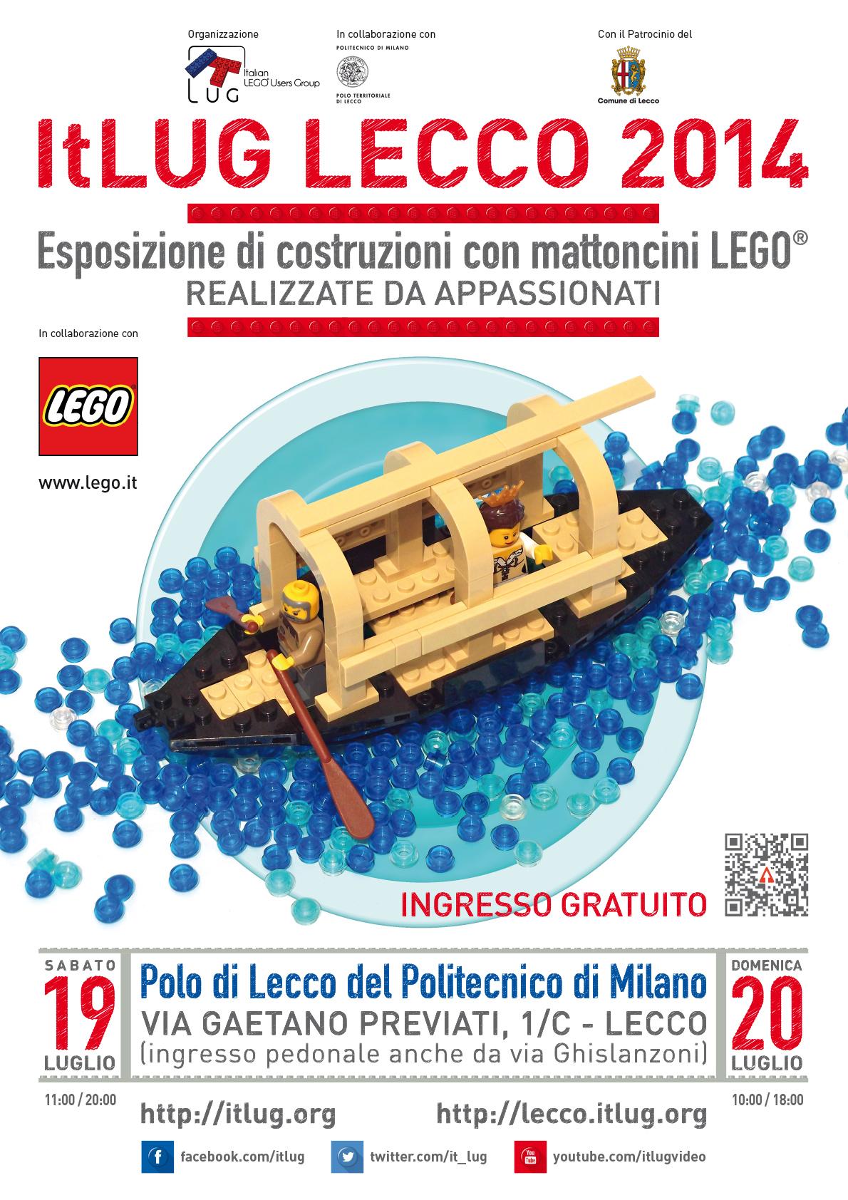 Locandina ItLUG Lecco 2014