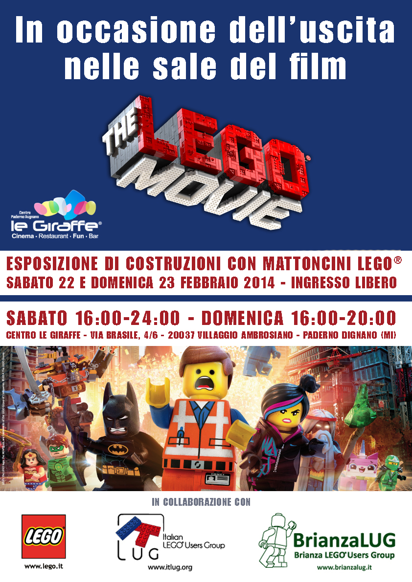 The LEGO Movie Paderno Dugnano