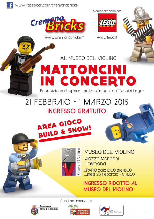 Cremona Bricks 2015