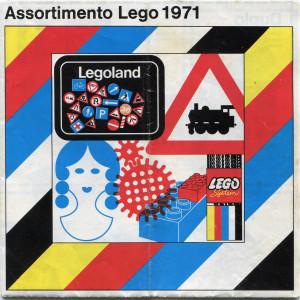 Catalogo LEGO 1971.