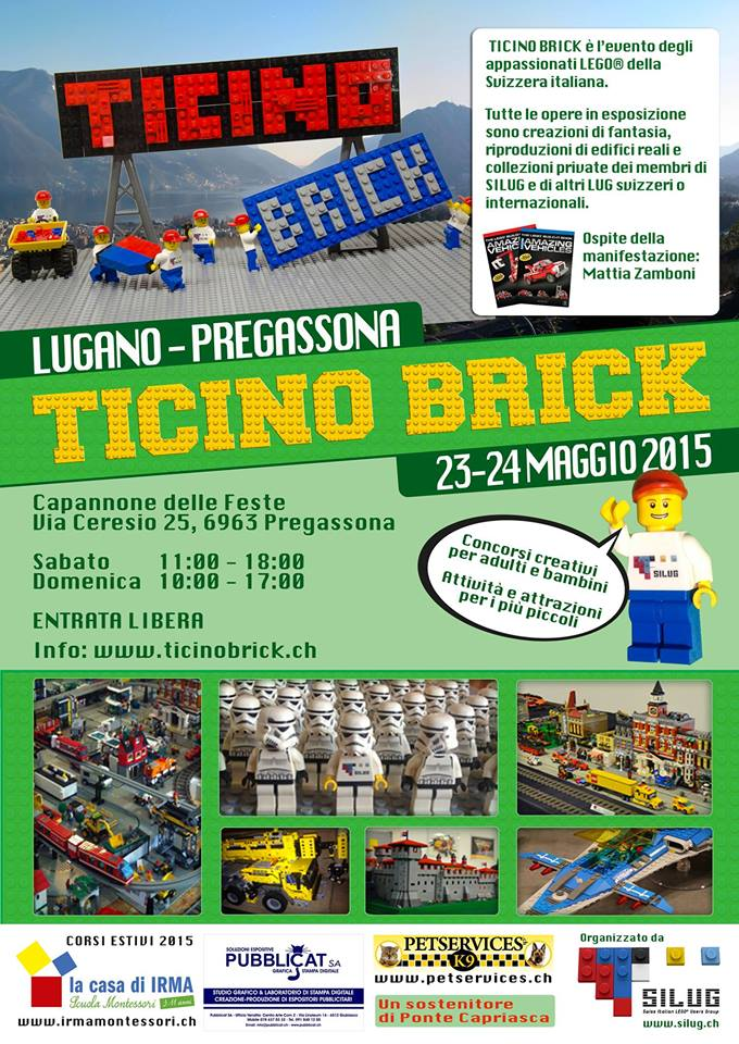 ItLUG partecipa a Ticino Brick 2015