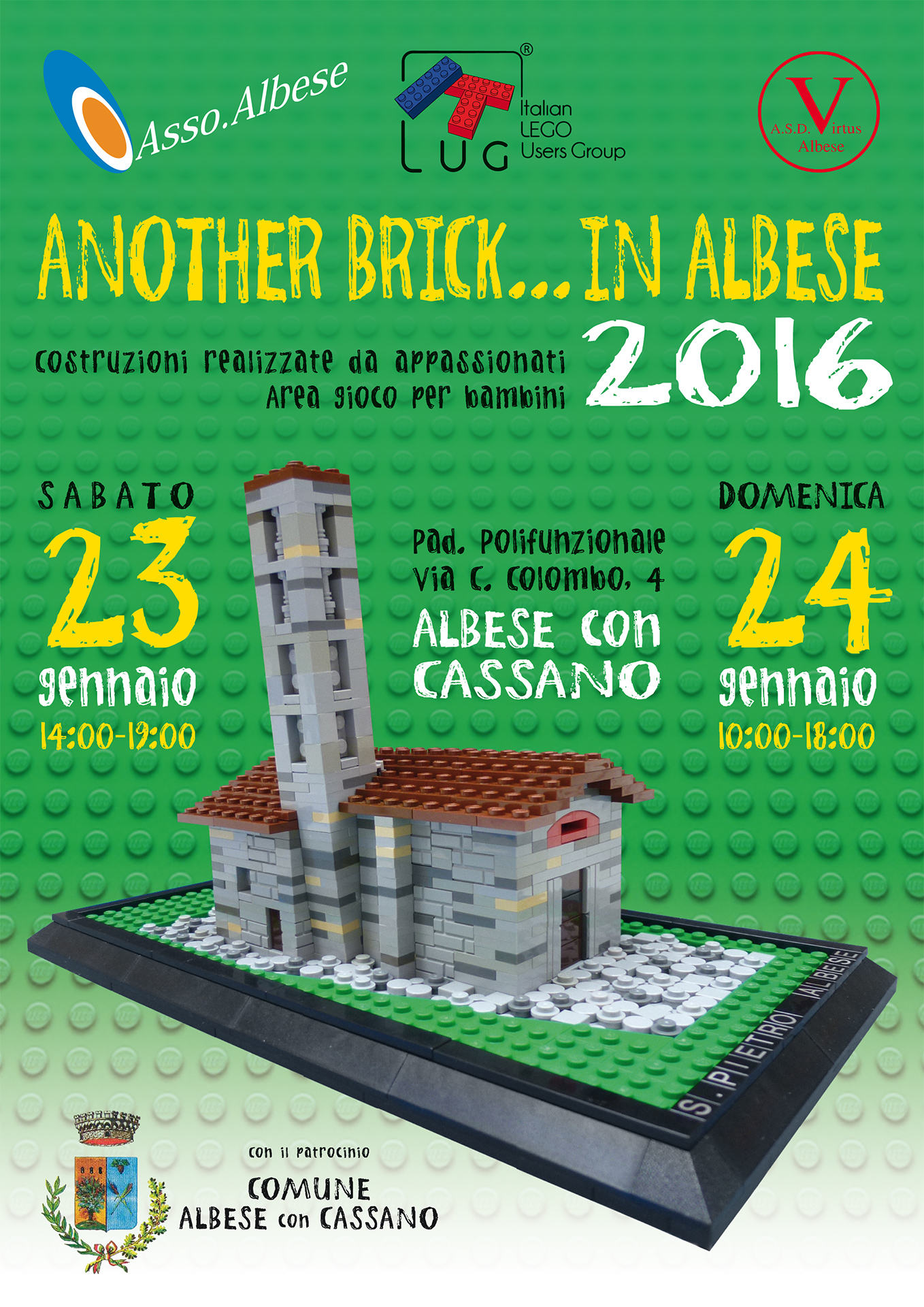 Another Brick in... Albese - ItLUG Albese 2016