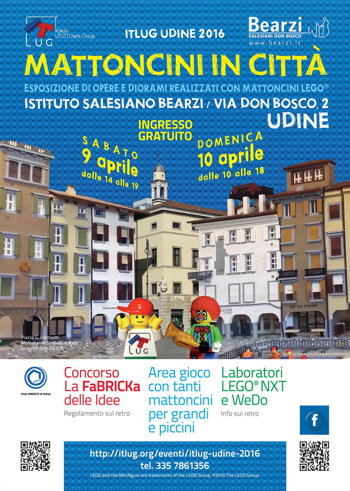 ItLUG Udine 2016 - Mattoncini in città