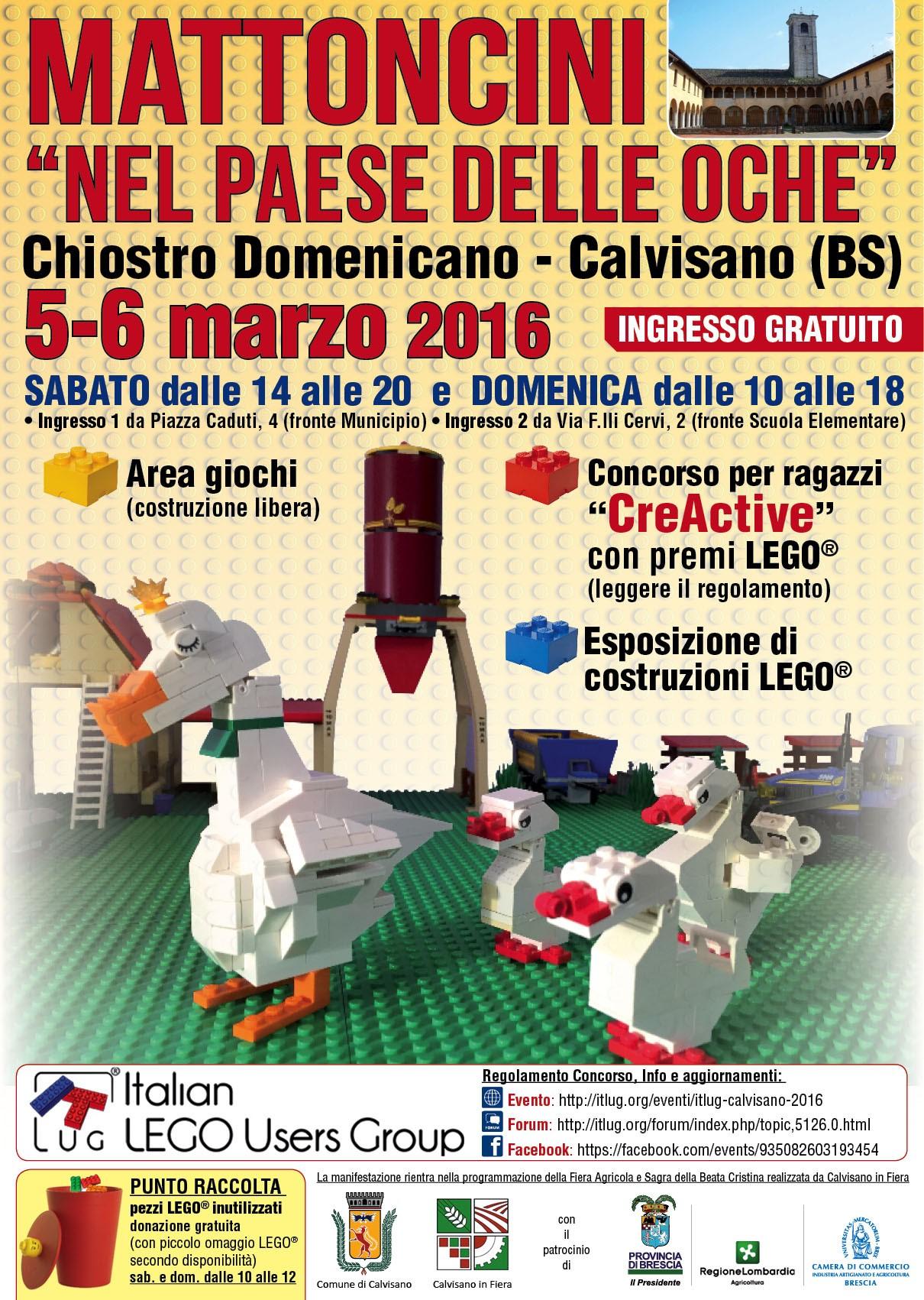 ItLUG Calvisano 2016 - Mattoncini nel Paese delle Oche