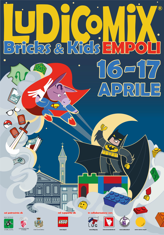ItLUG Empoli 2016 - Ludicomix Bricks & Kids