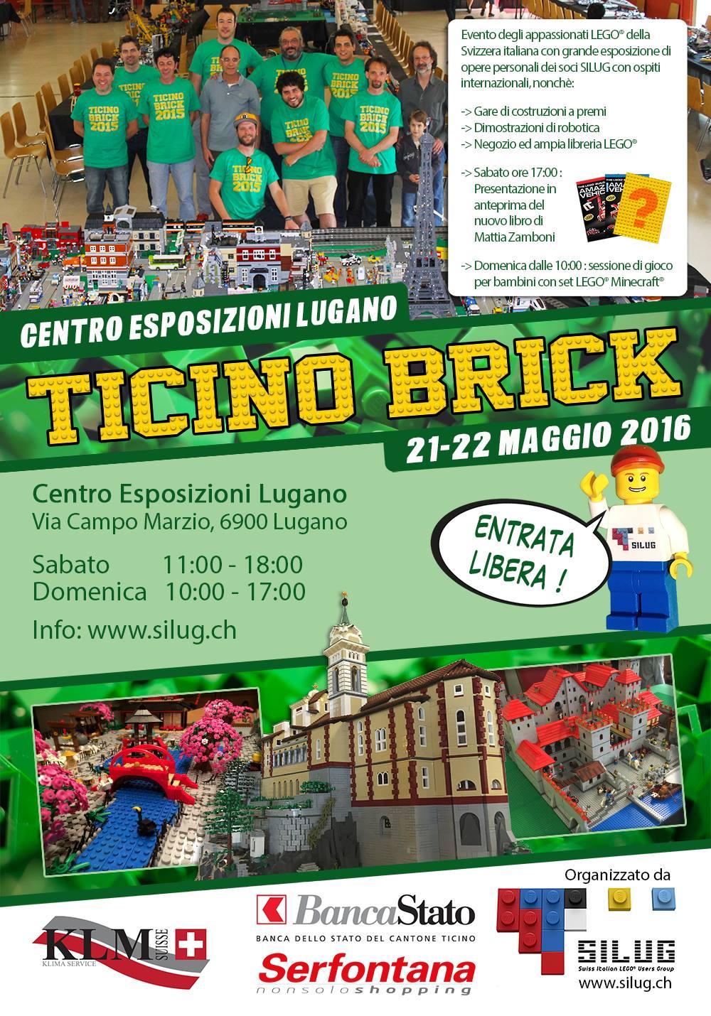 """ItLUG partecipa a """"Ticino Bricks"""" 2016"""