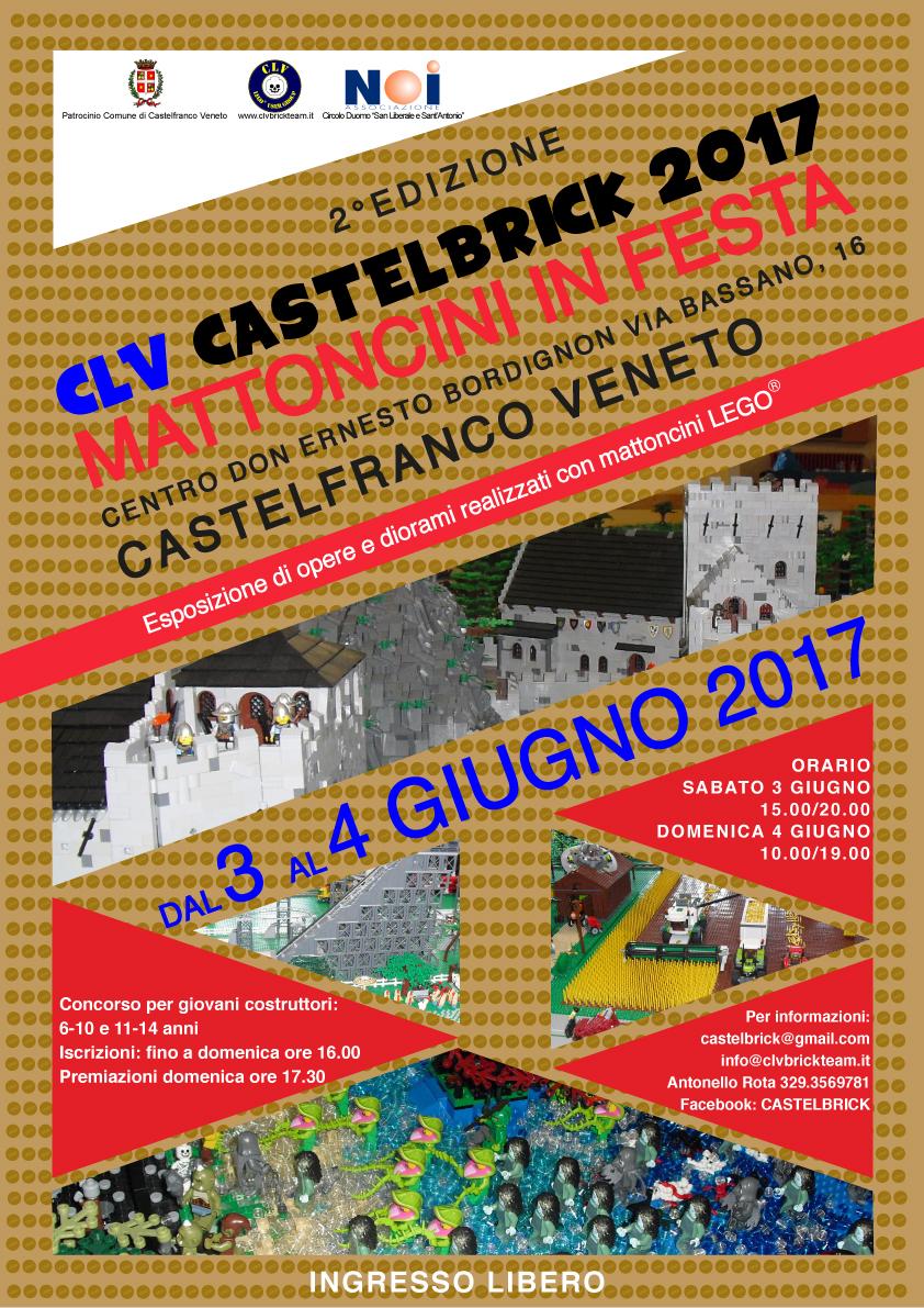 """ItLUG partecipa a """"CLV Castelbrick"""" 2017"""