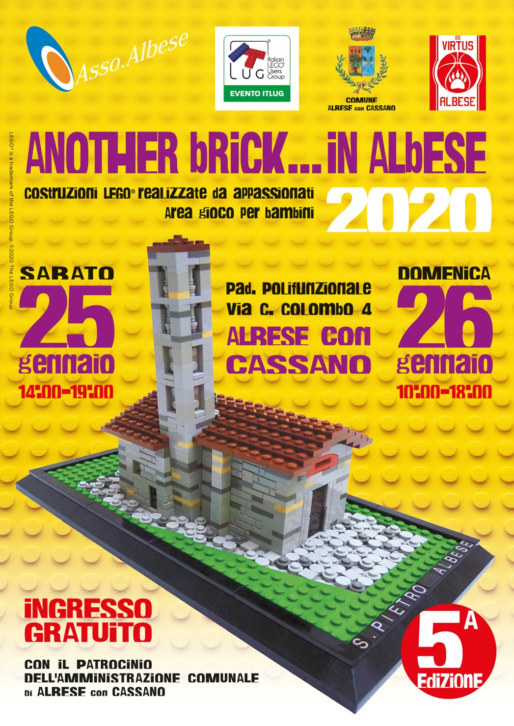 Another Brick in... Albese - ItLUG Albese 2020